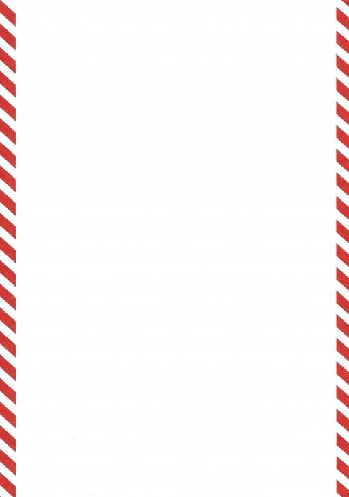 Formulare mit rotem Rand (links und rechts je 1cm), Sonderanfertigung Format DIN A 4 (11529), VPE 100 Stück