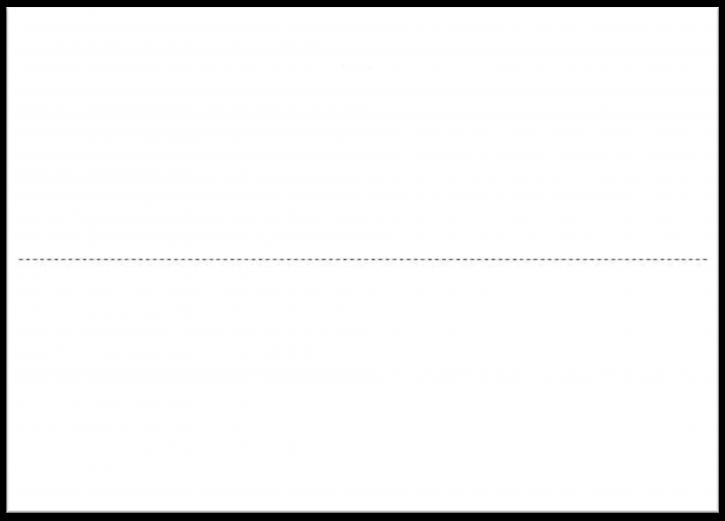 Warenanhänger VDA ohne Daumenlasche Einzelblatt A5, VPE 1.000