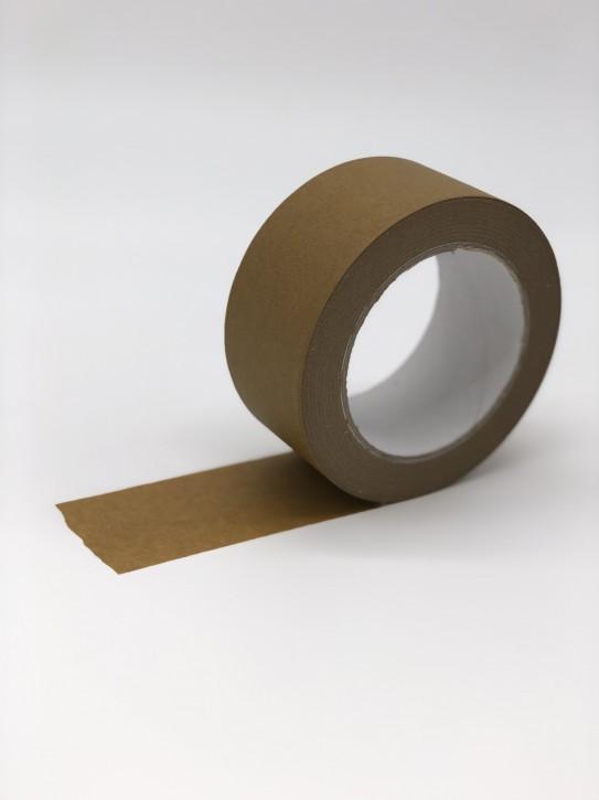Packband - Papier-Klebeband/braun/Naturkautschukkleber 50 mm breit x 50 m lang / VPE 36 Rollen