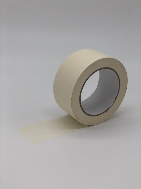 Packband - Papier-Klebeband/weiß/Naturkautschukkleber 50 mm breit x 50 m lang / VPE 36 Rollen