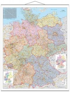 Organisationskarte Deutschland 97 x 137 cm