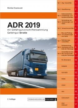 ADR 2019 Gefahrgut Straße mit Gefahrgutvorschriftensammlung - 2. Auflage