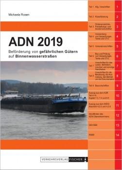 ADN 2019 - Beförderung von gefährlichen Gütern auf Binnenwasserstraßen