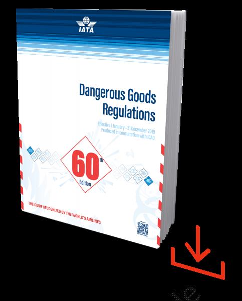 Web-Download IATA 2019 Dangerous Goods Regulations, 60th Edition, englische Ausgabe