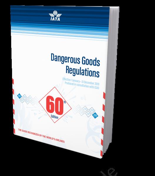 IATA 2019 Dangerous Goods Regulations, 60th Edition, Buchausgabe englisch