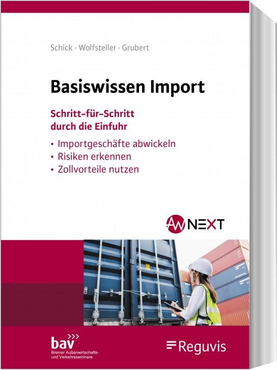 Basiswissen Import - erscheint Oktober 2020