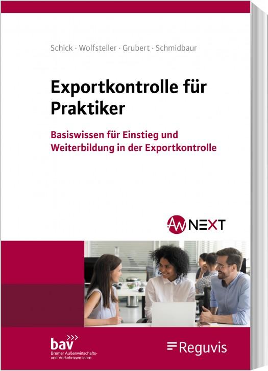 In Vorbereitung - Exportkontrolle für Praktiker - Erscheint Oktober 2020