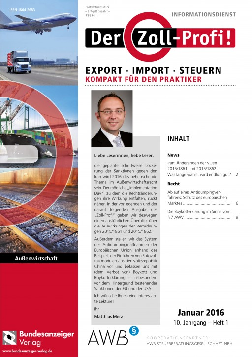 Der Zoll-Profi! Export - Import - Steuern Kompakt für den Praktiker