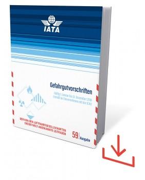 Web-Download IATA Gefahrgutvorschriften, 59. Auflage 2018, deutsche Ausgabe