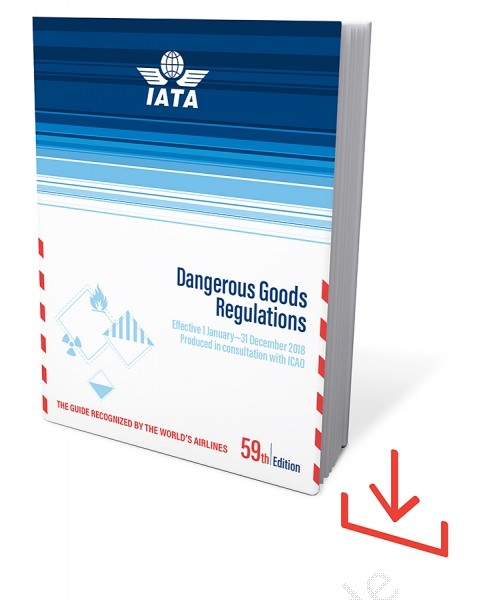 Web Download IATA Dangerous Goods Regulations, 59th Edition 2018
