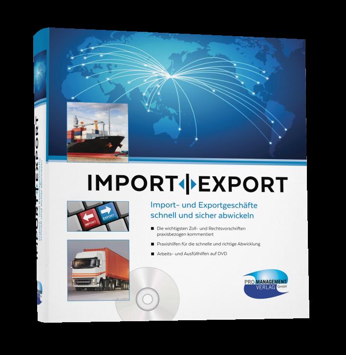 IMPORT | EXPORT – Import und Exportgeschäfte schnell und sicher abwickeln