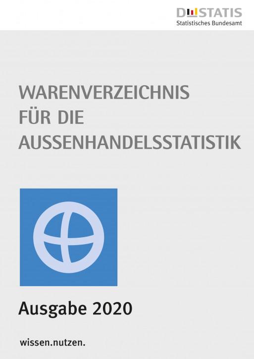 Warenverzeichnis  für die Außenhandelsstatistik Buch-Ausgabe 2020