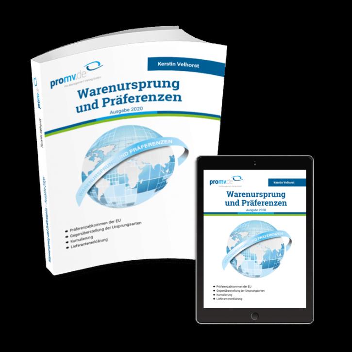 Warenursprung und Präferenzen – Ausgabe 2020 (PMV)