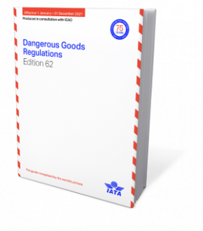 IATA 2021 Dangerous Goods Regulations, 62nd Edition, Buchausgabe englisch